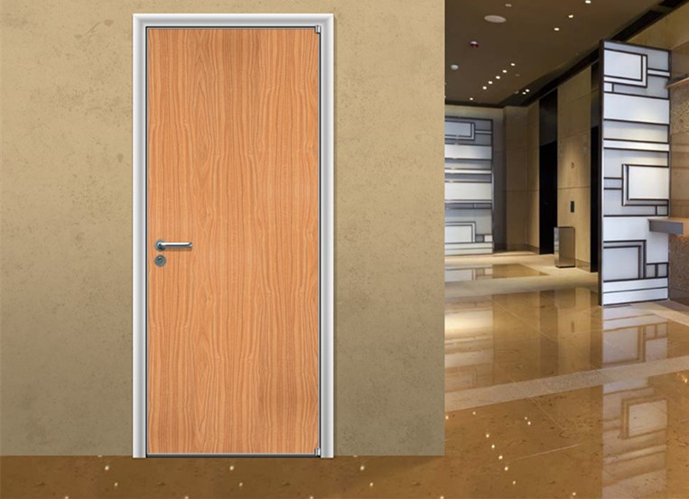 Modern wood door designs hotel wood room door for Office main door design