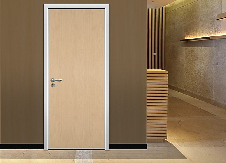 Interior wood flush door for bedroom for Office main door design