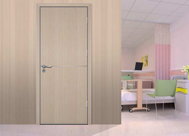 & Modern Wooden Clinic Door