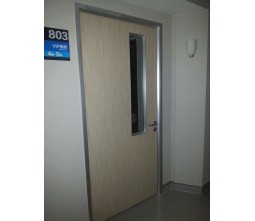 China Wooden Walk In Clinic Doors
