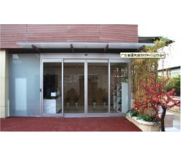 Aluminum Frame Automatic Slide and  Swing Door