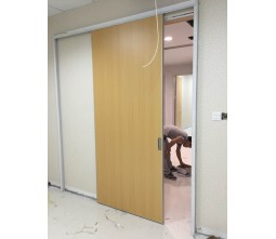 Hospital Wooden Sliding Door