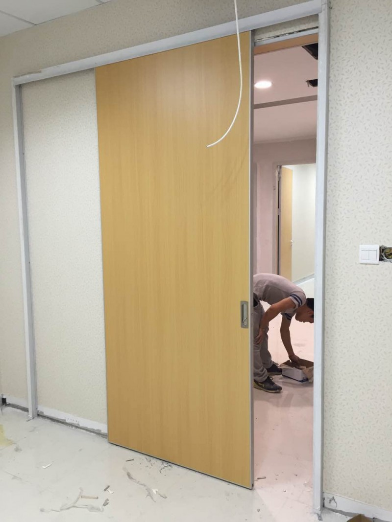 Hospistal Wooden Sliding Door