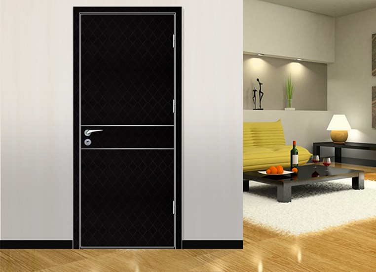 Aluminum Frame Bedroom Door