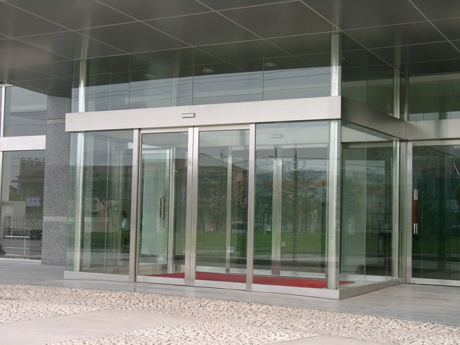 Automatic Aluminum Frame Sliding Entrance Door