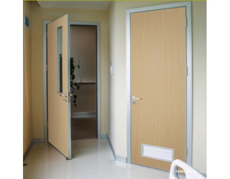 Aluminum frame patient room door design for Room door frame