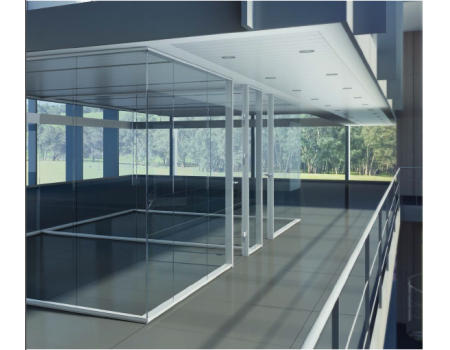 Office Design Glass Partition