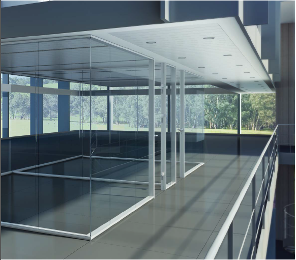 Office design glass partition for Office design glass