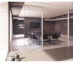 Aluminum Office Glass Partition Wall