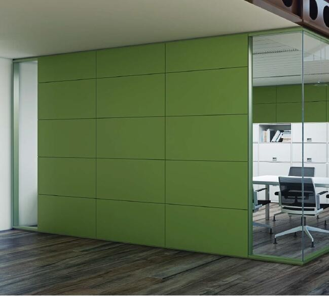 Fashion Design Office Glass Partition