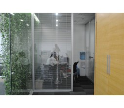 Aluminum Framing Office Style Glass Cubicle