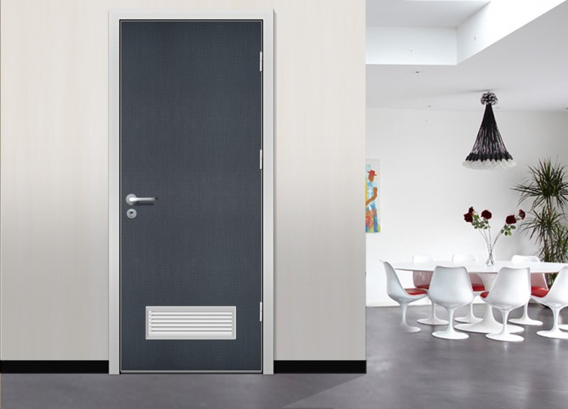 waterproof office washroom door