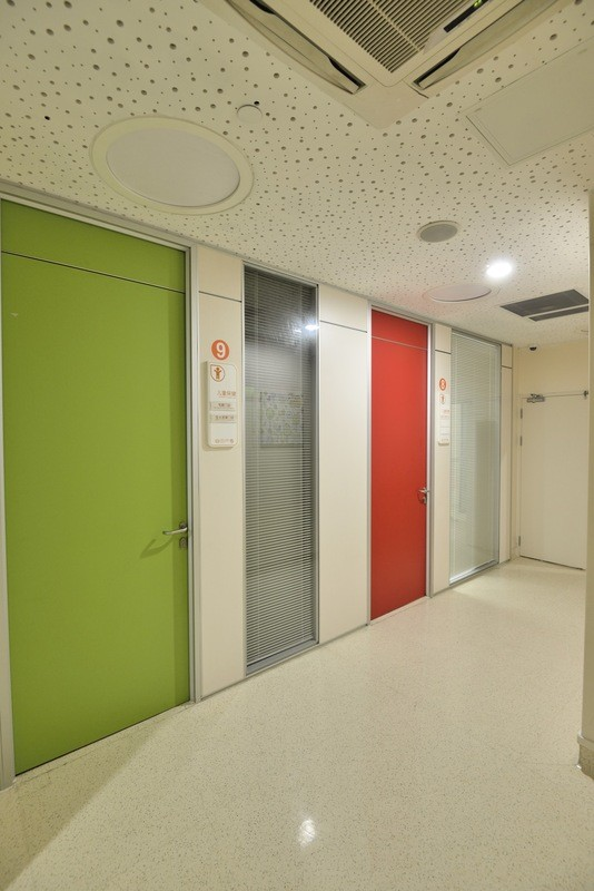 Colorful Children Hospital Bedroom Door