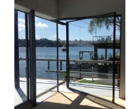 Interior Pivot Glass Entry Door