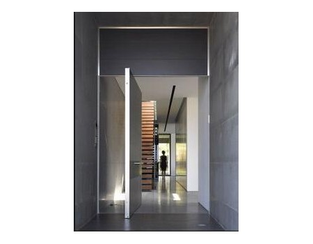 Contemporary Heavy Duty Exterior Pivot Door