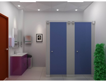 Popular Design Toilet Cubicle Partition
