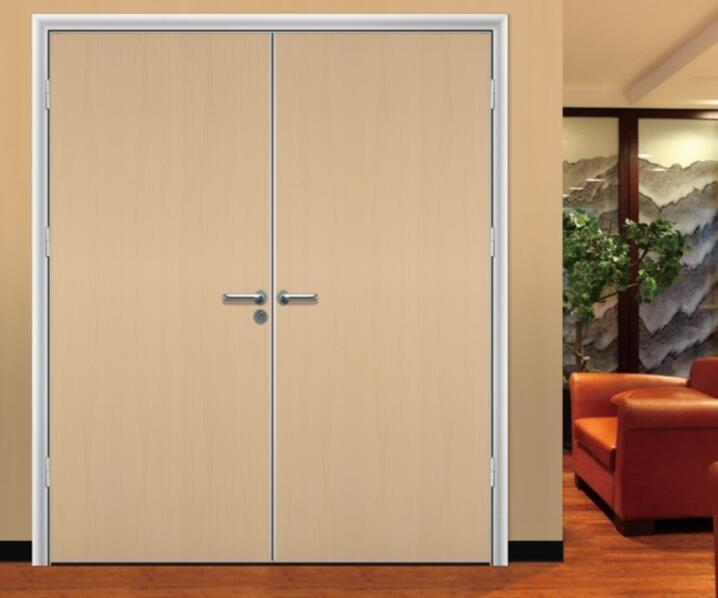 bedroom double doors
