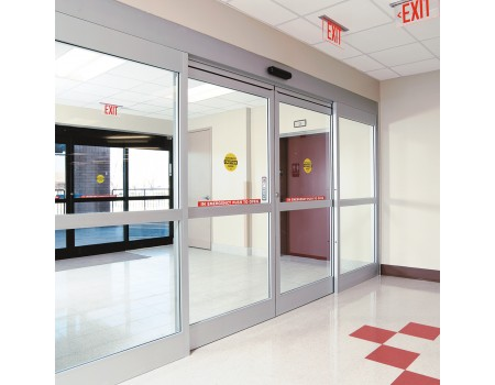Hospital Sliding And Hinged Glass Door