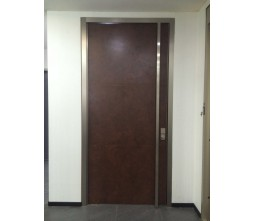 Oversized Exterior Pivot Wooden Door