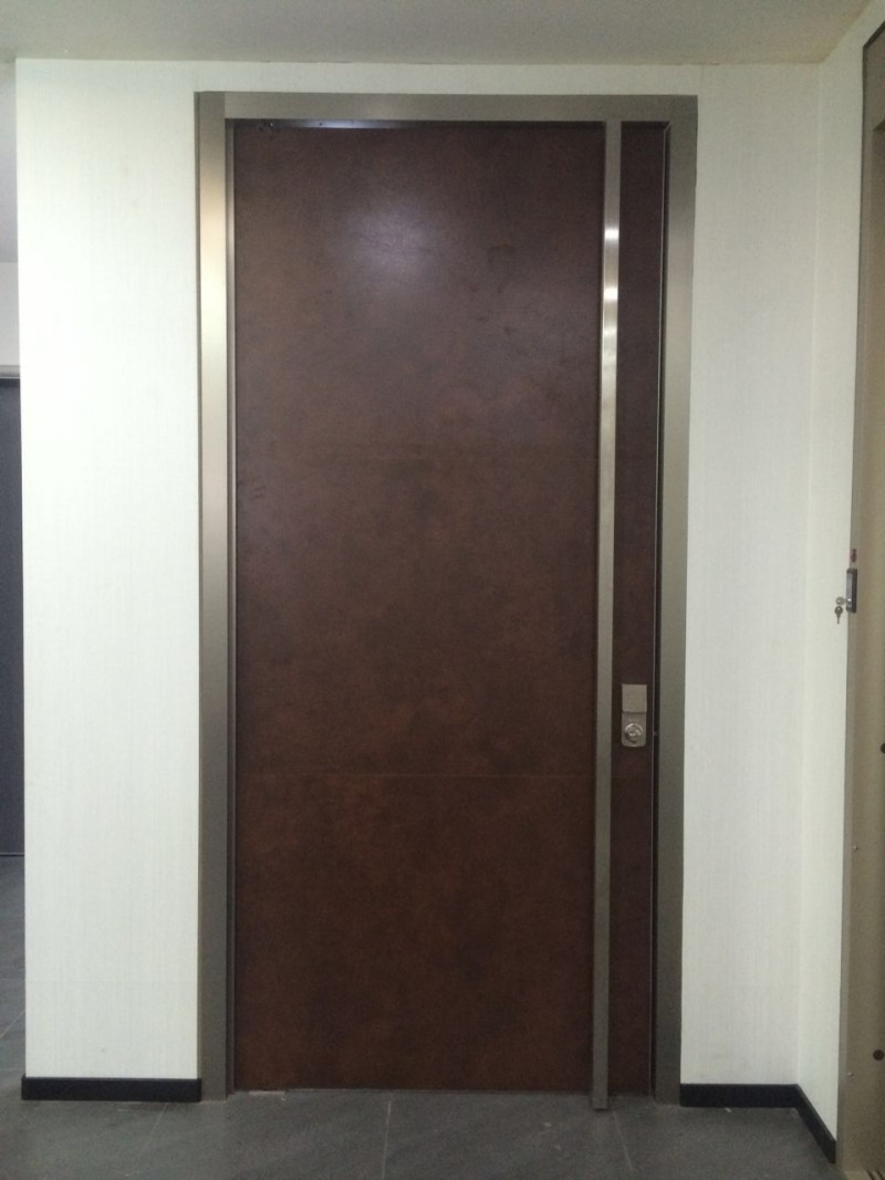 Oversized exterior pivot wooden door for Oversized exterior doors