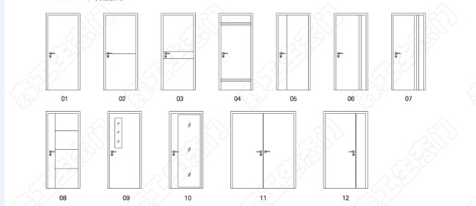 bedroom door design