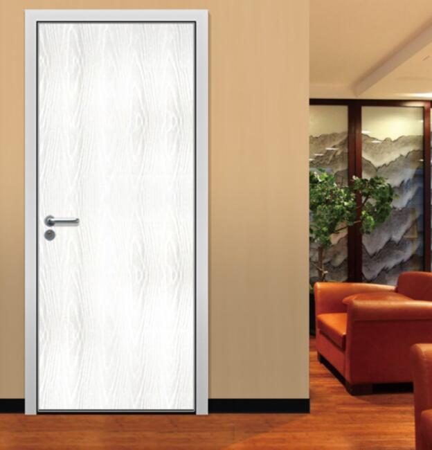 Interior wood flush door for bedroom for Flush interior wood doors