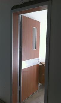 Unequal Patient Room Doors