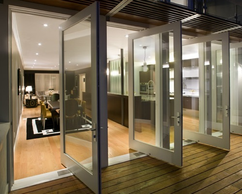 Aluminum Glass Pivot Door Manufacturer