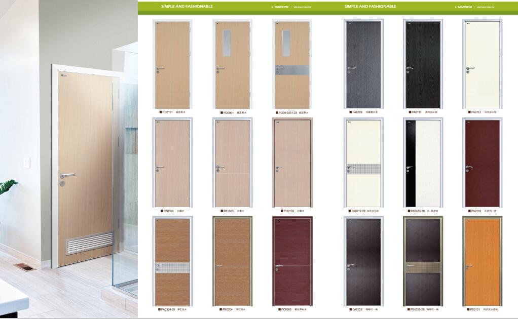 Interior Office Door composite wooden office door