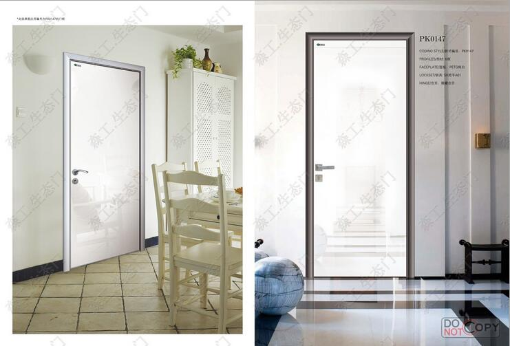 modern bedroom door