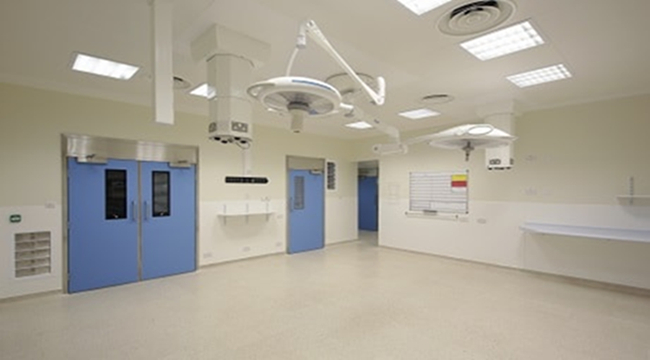 Hospital Automatic Hinged Door