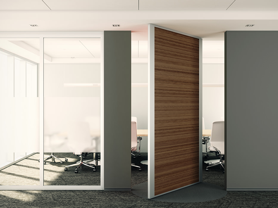 China Modern Large Pivot Door Manufacturer