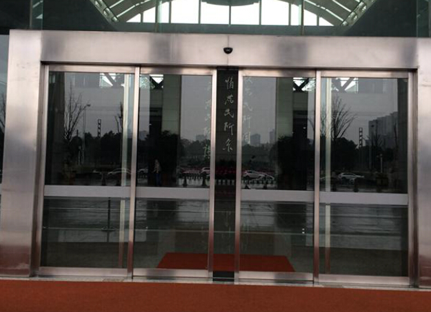 automatic swing and sliding door