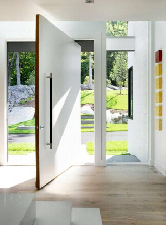 pivot wooden door