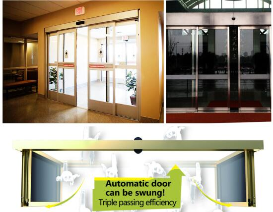 ICU sliding door