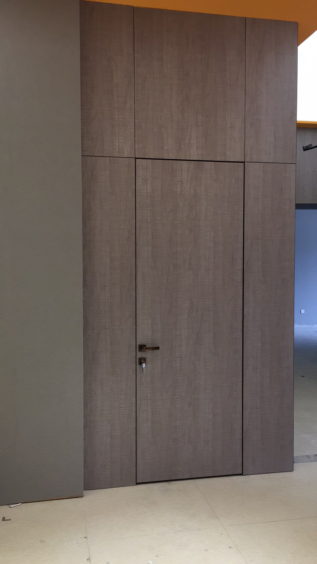 Frameless Interior Wood Door